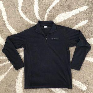 Columbia Men's Half Zip Fleece Black